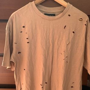 Pacsun Distressed Mens Shirt